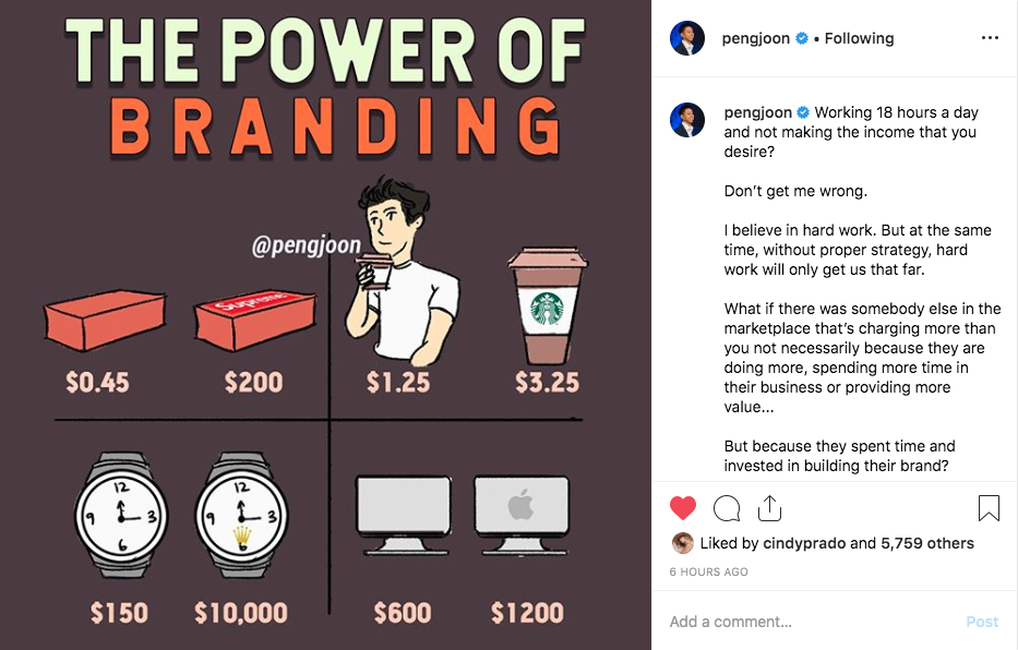 branding and consistent social media image designs