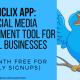 social media management tool uniclix