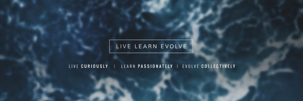 twitter header live learn evolve