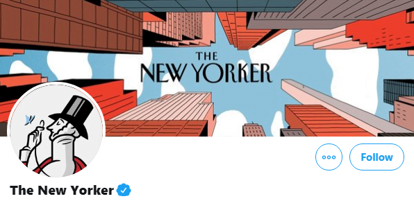 the new yorker twitter header