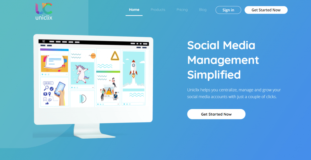 The most affordable and simple to use social media management platform