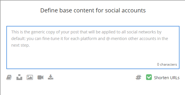 Loomly - Base Content for Social Accounts
