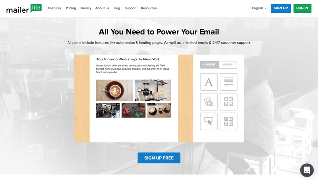 mailer lite email marketing -Digital Marketing tool