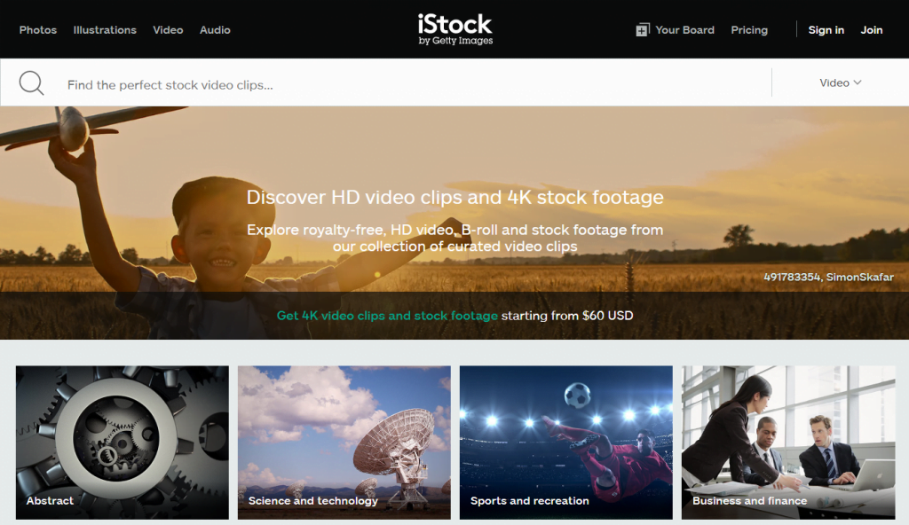 iStock Free Images and 4k stock footage