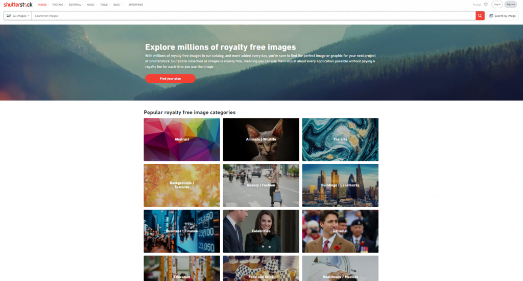 Shutterstock Free Images