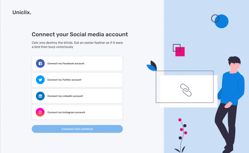 Uniclix social media management platform