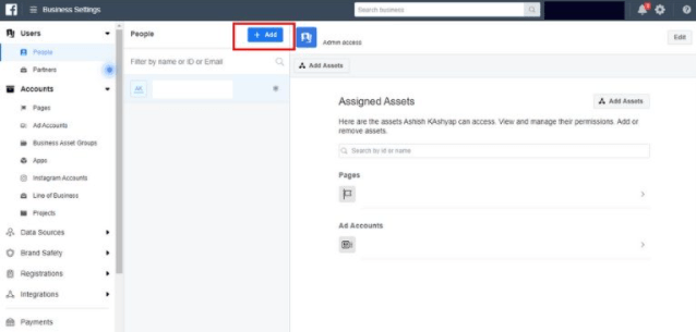 Facebook Business Manager Add Users