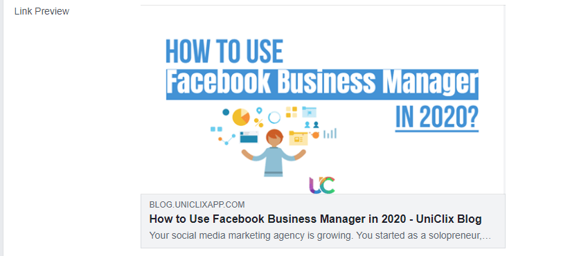 Facebook Business Manager 2020