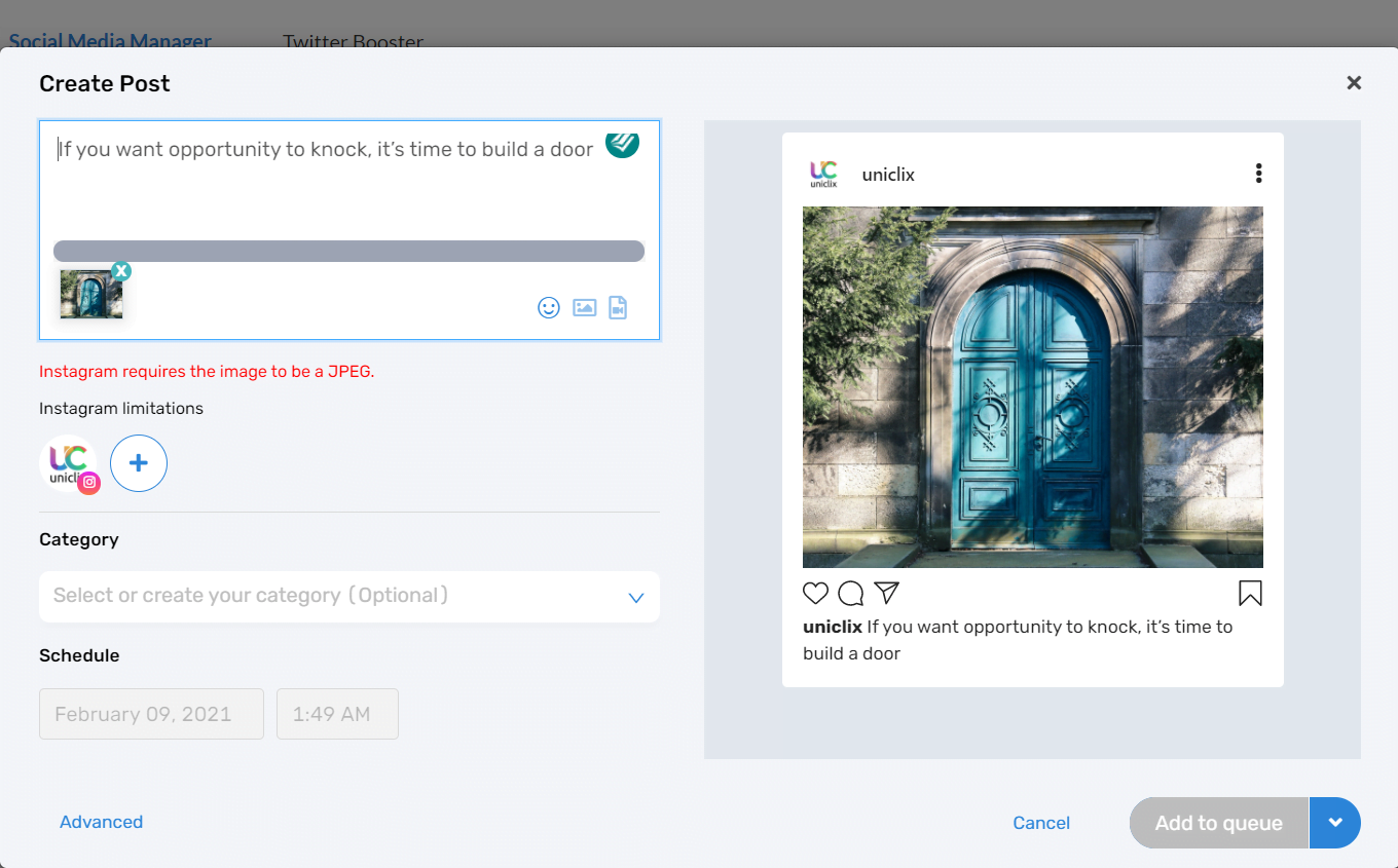 How to Post on Instagram scheduled post