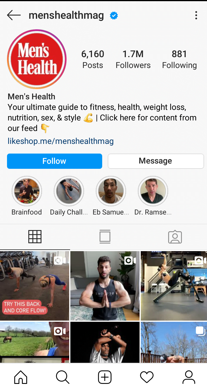 Instagram bio tips